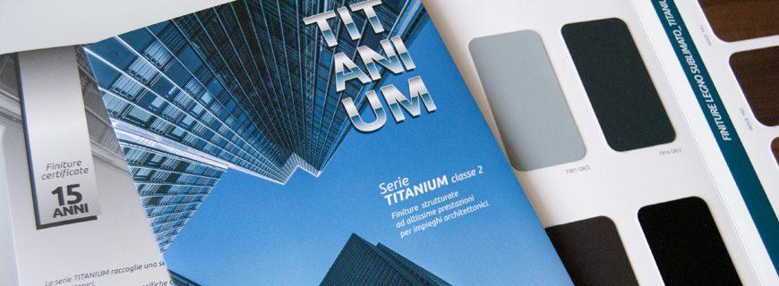 TITANIUM: Finiture classe 2 ad altissime prestazioni per impieghi architettonici