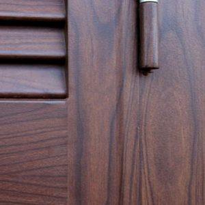 Effetto legno sublimato su ferro