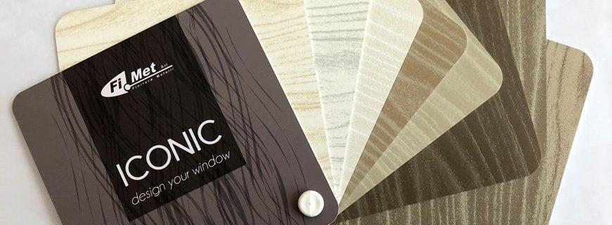 """Effetto legno """"polvere su polvere"""" serie ICONIC"""